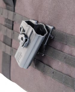 Tac Ops M.O.L.L.E. Attachment - 110086 w holster on molle 250x304