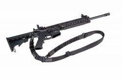 AR Modular Dual Point Sling Kit - 156216 on gun 250x167
