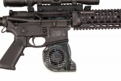 Accumax AR-15 Barrel Cooler - 390247 in gun close 250x167