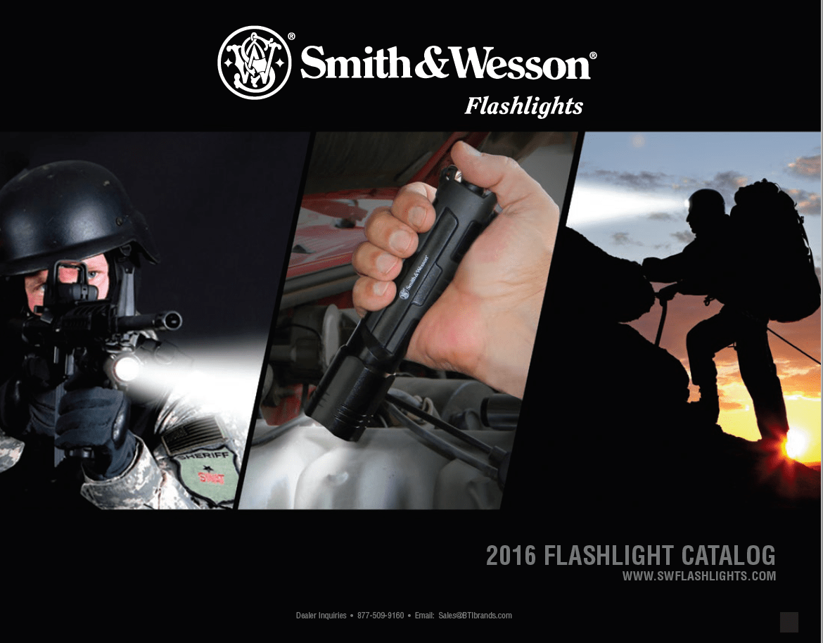 2016 S&W Flashlights Catalog