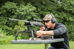 Stinger Shooting Rest - 110033 On Stable Table Kyle Elevation Adjust 250x167