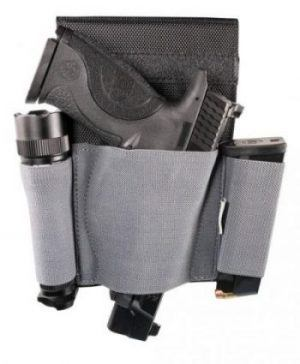 Night Guardian Low Profile Holster - 110126 loaded hanging e1505510094230