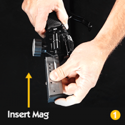 Mag Charger® Universal Pistol Loader - Amazon UPMC Aplus GraphicsInsert Mag 250x250