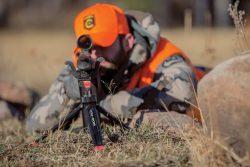 Bog-Pod® Rapid Shooting Rest Tripod - 110113 Action 250x167