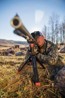 Bog-Pod® Rapid Shooting Rest Tripod - 110113 Action Down Rifle 250x375