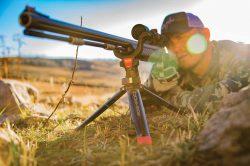Bog-Pod® Rapid Shooting Rest Tripod - 110113 Action prone bogpod hat 250x166