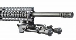 "Caldwell® Pic Rail XLA Fixed Bipod® 9""- 13"" - 110140 Folded on AR 250x133"