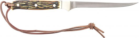 168UH- Uncle Henry Small® Fillet Knife Full Tang Fixed Blade - 168UH 529x148