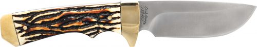 182UH- Uncle Henry® Elk Hunter Full Tang Drop Point Fixed Blade - 182UH e1505499585128