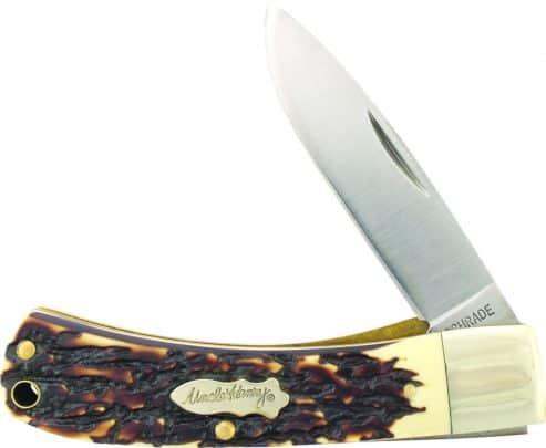55UH- Uncle Henry® Special Edition Bruin Lockblade Folding Pocket Knife - 55UH 493x405