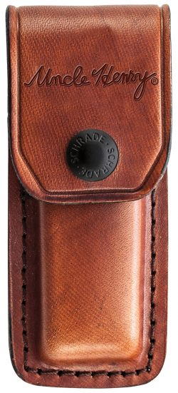 LB5- Uncle Henry® Smokey Lockback Folding Pocket Knife - LB5 SHEATH 250x551