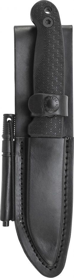 LS56L - Schrade® Premium Leather Sheath for SCHF56L - LS56L SCHF56L 250x936