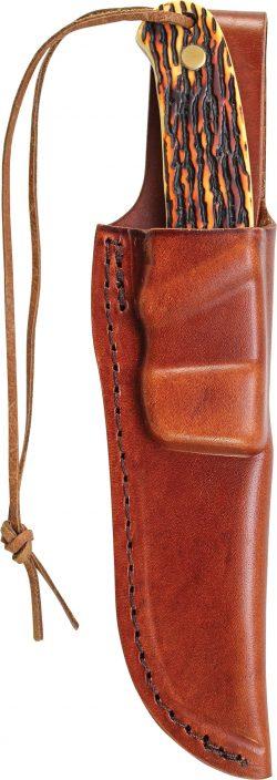 PH1N- Uncle Henry® Pro Hunter® Full Tang Fixed Blade Knife - PH1N SHEATH 250x704