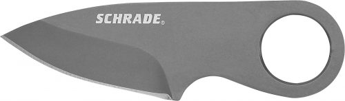 SCHCC1 - Schrade® Pocket Money/Card Clip Full Tang Fixed Blade Knife - SCHCC1 e1505405051775