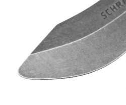 SCHF23-TR - Schrade® Full Tang Training Fixed Blade - SCHF23 TR TIP DETAIL 250x208