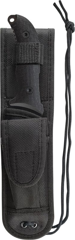 Schrade Extreme Survival Full Tang Drop Point Fixed Blade TPE Handle - SCHF26 SHEATH 250x800