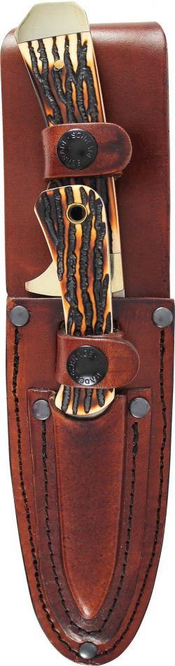 UHCOM2CP- Uncle Henry® OUTDOORSMAN COMBO PACK - UHCOM2CP SHEATH 250x952