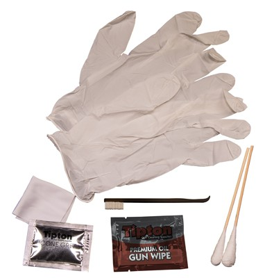 Shooting and Gun Cleaning Supplies - 1080202 contents