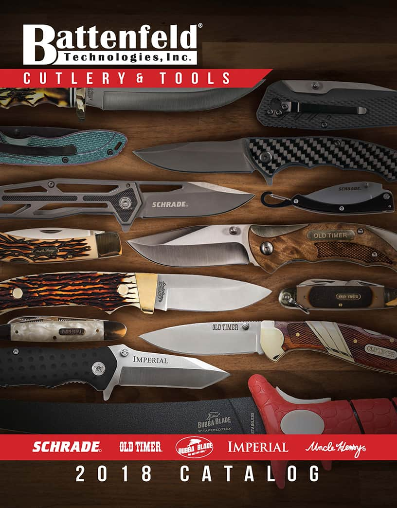 2018 Battenfeld Cutlery & Tools Catalog