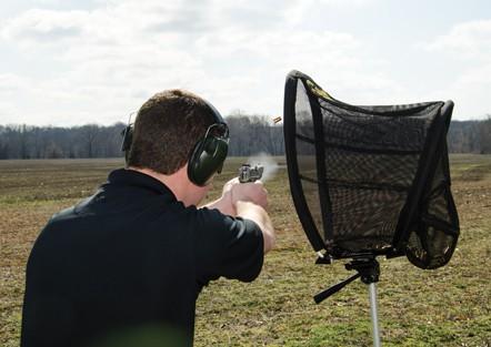 Brass Trap - 122560 action matt pistol tripod