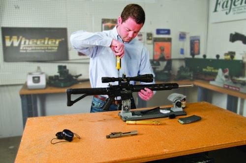 AR Armorers Vise - 156224 scope work