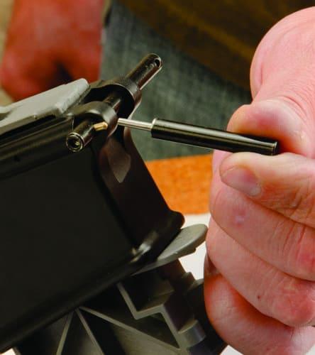 AR Pivot Pin/Roll Pin Install Tool - 156243 pivot pin demo