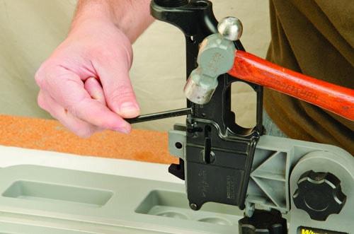 AR Pivot Pin/Roll Pin Install Tool - 156243 roll pin demo