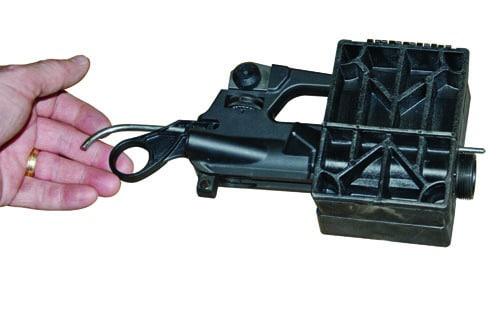 Delta Series AR-15 Upper  Vise Block Clamp - 156444 demo closed