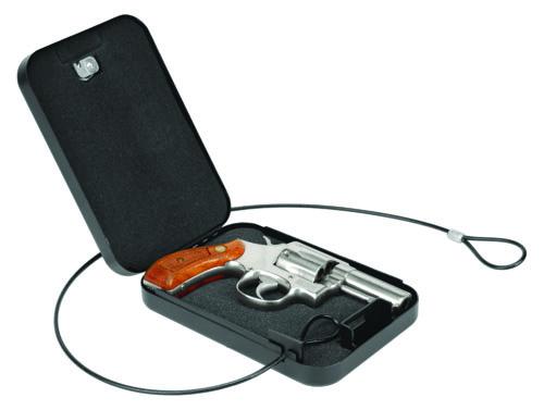 Handgun Security Vault, Compact - 222133 open gun cable