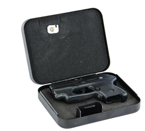 Handgun Security Vault, Ultra Compact - 222747 open gun