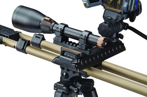 DSFP Optics Adaptor kit - 488333 closeup picrail flashlight