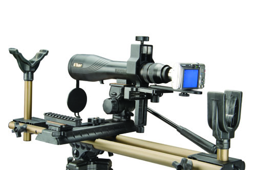 DSFP Digiscoping Kit w/ Smart Phone Cradle - 488444 DSFP camera ext rod back