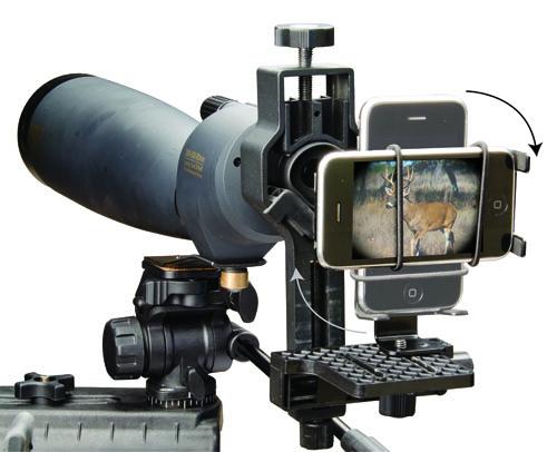 DSFP Digiscoping Kit w/ Smart Phone Cradle - 488444 demo