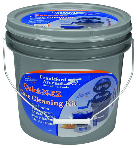 Quick-N-EZ™ Case Tumbler 220 Volt Kit - 507565 QNEZ Case Cleaning Kit Packaged