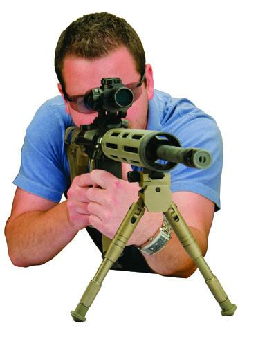 AR Bipods - 534455 front AR MATT