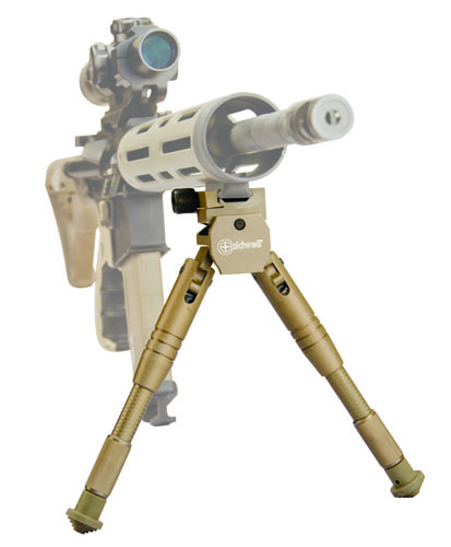 AR Bipods - 534455 front AR ghost FLAT