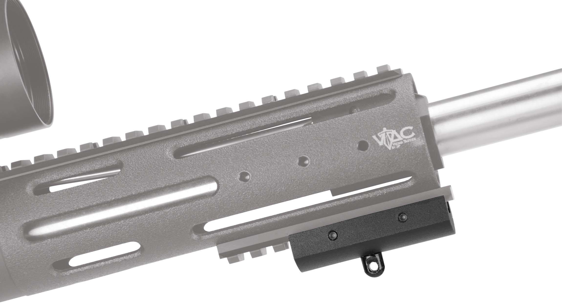 Bipod Adaptor for Picatinney Rail - 535423 gun side ghost