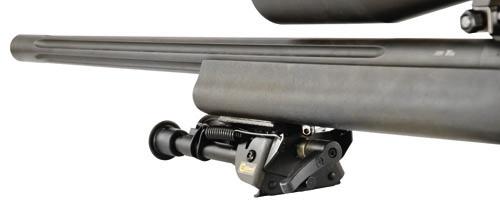 Caldwell® Bipod Pivot Lock - 535881 folded bipod rifle