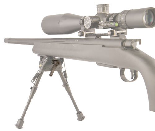 Caldwell® Bipod Pivot Lock - 535881 open bipod extended gun ghost