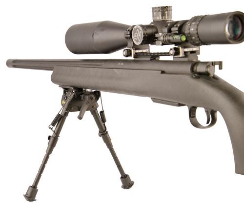 Caldwell® Bipod Pivot Lock - 535881 open bipod extended gun