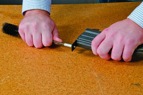 Magazine Cleaning Brush - 557575 takedown action 2