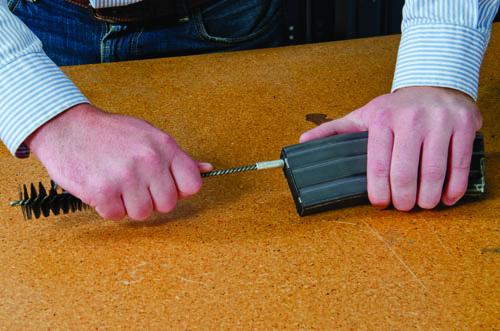Magazine Cleaning Brush - 557575 takedown action