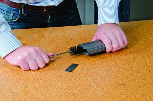 Magazine Cleaning Brush - 557575 takedown brush inside 2