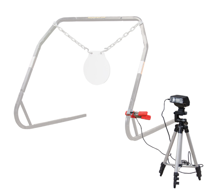 Caldwell® Strobe Flash Hit Indicator - 720015 demo w gong ghost