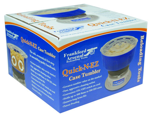 Quick-N-EZ™ Case Tumbler 220 Volt Kit - 855020 QNEZ Tumbler Litho Box