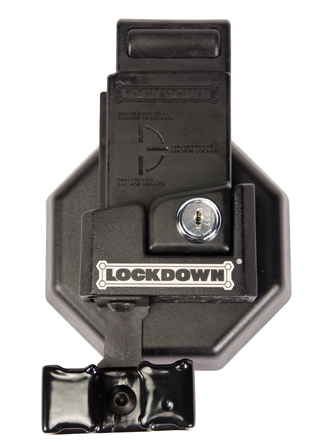 AR-15 Mag Well Lock with Wall Mount - 222819 Front