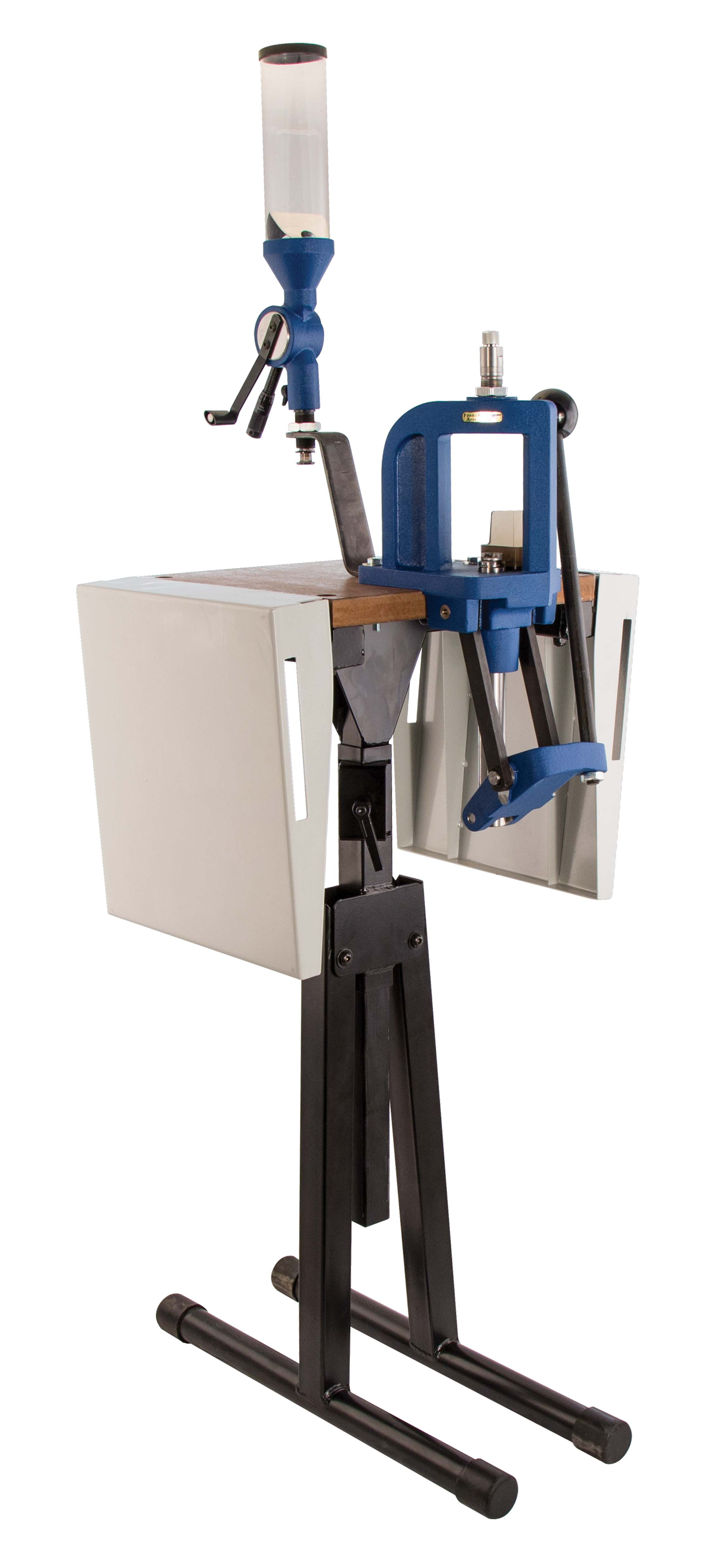 Platinum Series Reloading Stand - 489621 folded up
