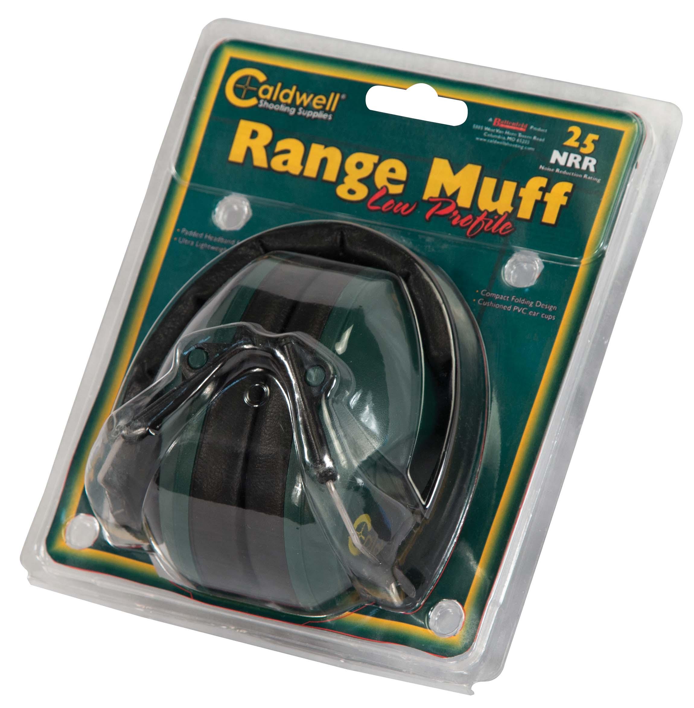 Range Muff Low Profile, NRR 25 - 498024 Clam Display