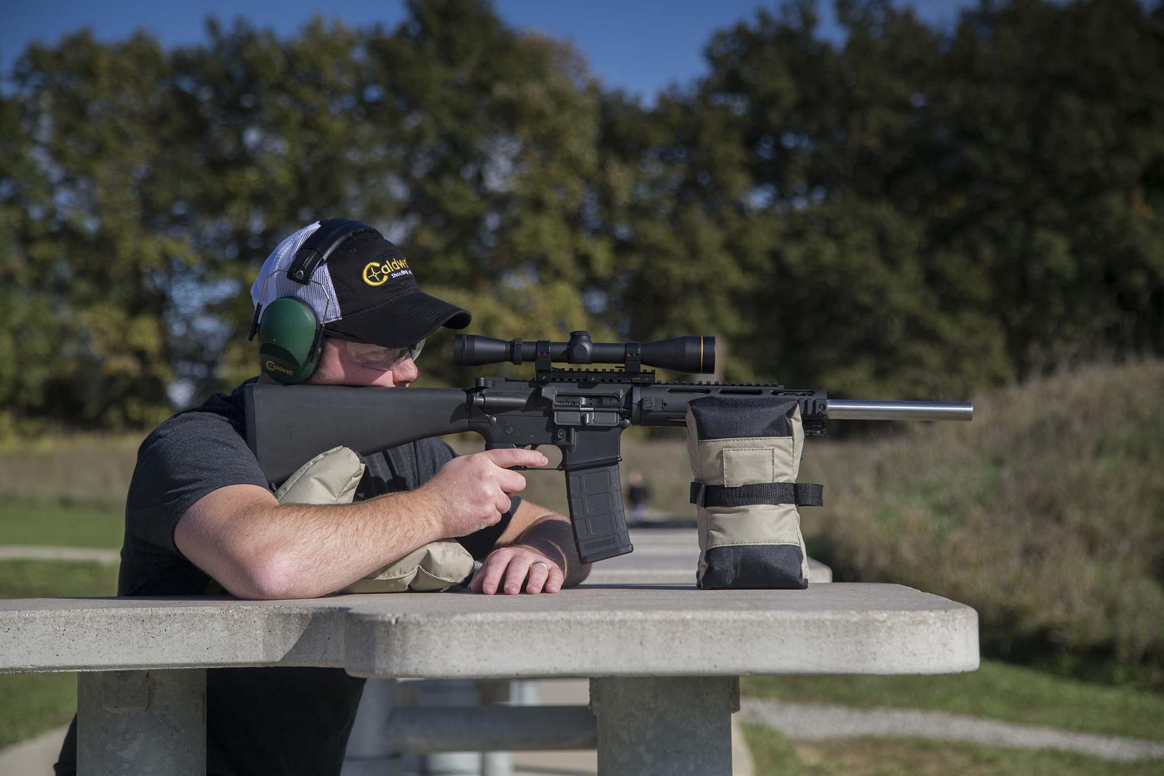 AR DeadShot Tactical Bag Set - 934693 Matt Action Profile