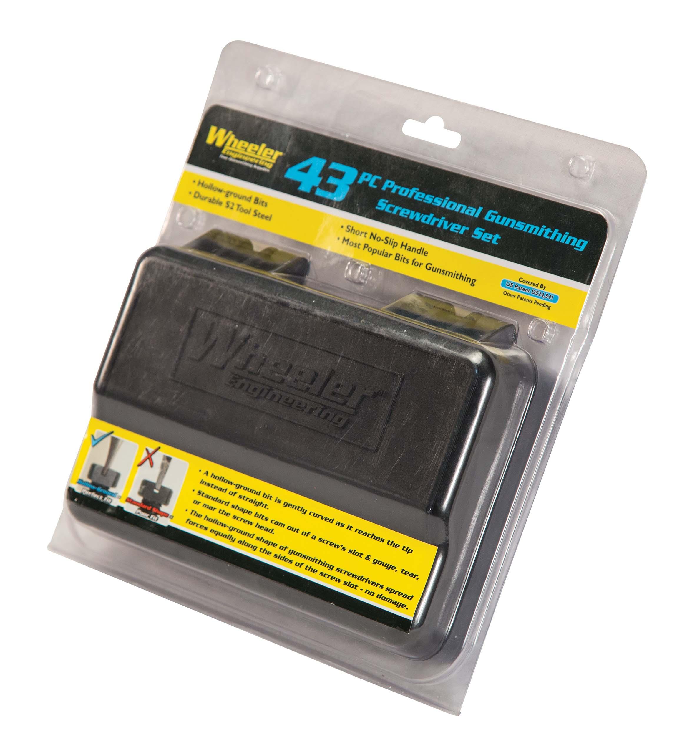 43 Piece Professional Gunsmithing Screwdriver Set - 954621 package